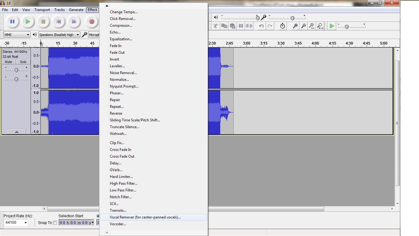 Audacity plugins vocal remover download - www lffzvescivmnv ga