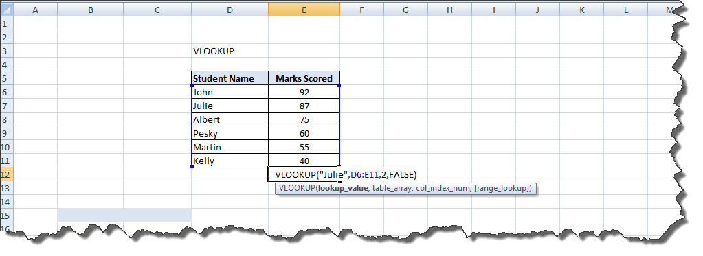 Excel Functions Tutorial (7)