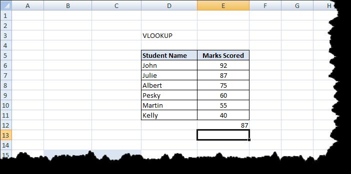 Excel Functions Tutorial (6)