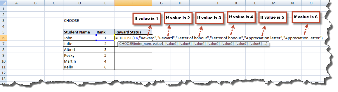 Excel Functions Tutorial (4)