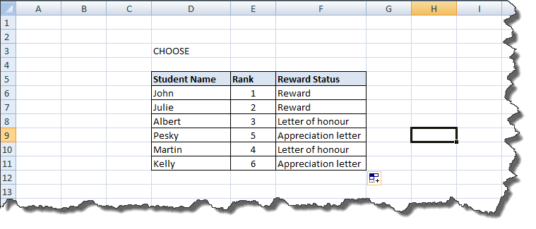 Excel Functions Tutorial (3)